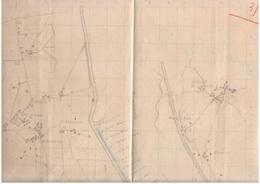 Friuli 1917 Posizioni Reparti Genio Sul Tagliamento Varmo Ligugnana Camino Di Codroipo - Maps