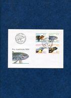 SWITZERLAND 1995 FDC With SALAMANDER,BIRD,FISH Etc.BARGAIN.!! - Andere