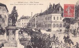 SEDAN - Guerre De 1870 - Soldats Français Portant Pour Le Captivité Après La Réddition - A Voir 2 Scans - Sedan