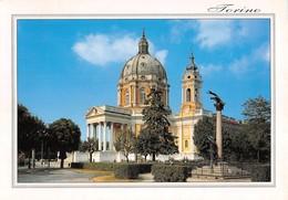 "3738"" TORINO-BASILICA DI SUPERGA (1731-ARCH. JUVARRA) "" CART. POST. OR. NON SPED. - Chiese"