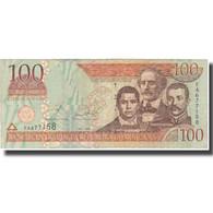 Billet, Dominican Republic, 100 Pesos Oro, 2002, 2002-08-30, KM:175a, TB+ - Dominicana