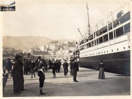 GENI- GENES-  UN NAVIRE EN PARTANCE-  Ancienne Photo D'Epoque - Genova (Genoa)