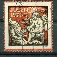 VI Vignette Norway 1913, Christmas Label - Cinderellas
