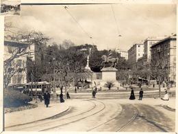 GENI- GENES-  PLACE CORVETTO-  Ancienne Photo D'Epoque - Genova (Genoa)