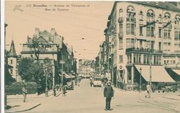 CPA - Belgique - Brussels - Bruxelles - Avenue De Tervueren Et Rue De Tongres - Etterbeek