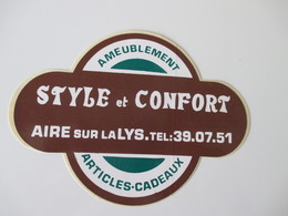 Autocollant Style Et Confort Aire-sur-la-Lys - Stickers