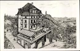 Cp Trois Épis Drei Ähren Elsaß Elsass Haut Rhin, Nouvel Hotel Bau Site Vers Le Galz - Autres Communes