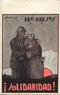 Pays Div -ref T472- Espagne - Espana -spain - Guerre D Espagne - Barcelone  -illustrateurs -dessin Illustrateur - - Espagne