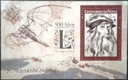 Uruguay 2019 **  500 Años Muerte Leonando Da Vinci. Polímata Florentino Del Renacimiento. - Celebrità