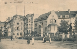 CPA - Belgique - Brussels - Bruxelles - La Porte De Tervueren - Etterbeek