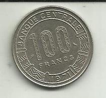 100 Francos 1971 Rep. Democrática Congo - Congo (República Democrática 1998)