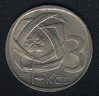 Tschechoslowakei, 3 Korun 1969, XF - Czechoslovakia