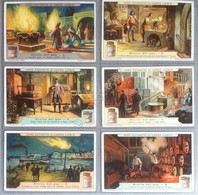 Figurine Liebig Italia Sang. 1118 - Storia Del Gas - 1921 - Liebig