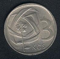 Tschechoslowakei, 3 Korun 1966, XF - Tschechoslowakei