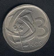 Tschechoslowakei, 3 Korun 1965, XF - Czechoslovakia