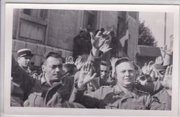 [74] Haute Savoie >carte Photo  Annecy Prisonnier Allemands à La Libération Aout 1944 - Annecy