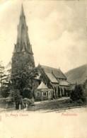 CUMBRIA - AMBLESIDE - ST MARY'S CHURCH 1905  Cu126 - Cumberland/ Westmorland