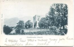 CUMBRIA - CROSTHWAITE CHURCH  1902  UNDIVIDED BACK Cu617 - Cumberland/ Westmorland