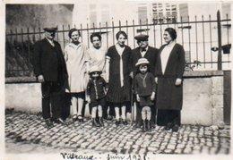 9-86Ve  21 Vitteaux Photo En 1928 - France