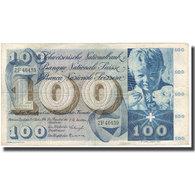 Billet, Suisse, 100 Franken, 1956, 1956-10-25, KM:49a, TTB - Switzerland