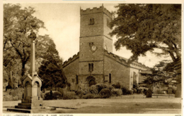 CUMBRIA - KIRKBY LONSDALE - CHURCH AND WAR MEMORIAL Cu912 - Cumberland/ Westmorland