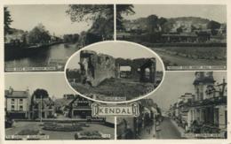 CUMBRIA - KENDAL - 5 RP VIEWS Cu702 - Cumberland/ Westmorland