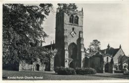 CUMBRIA - KENDAL  PARISH CHURCH RP Cu65 - Cumberland/ Westmorland