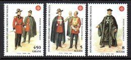 Ordre De Malte SMOM 0576/78 Uniformes Et Costumes Militaires De L'Ordre - Costumes