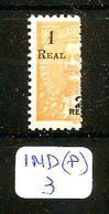 """IND (P) YT 223 MUN 230 """"A"""" De REAL Plus Grand En XX - Inde Portugaise"""