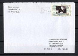 Germania R F T. :  Theodor W. Adorno - Isolato  Su Lettera   Cat. Mi  2361 -  11.09.2003 - [7] Repubblica Federale
