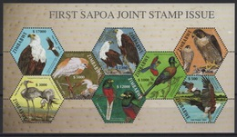 Zimbabwe (2010) - MS -  /  Joint SAPOA Issue - Birds - Eagle - Falcon - Birds Of Prey - Emisiones Comunes