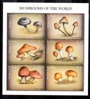 Hoja Bloque De Antigua Y Barbuda N ºYvert 309 ** SETAS (MUSHROOMS) - Antigua And Barbuda (1981-...)
