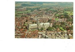 Cpm - Canterbury - Aerial View - Cathédrale Travaux échafaudage - Canterbury