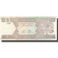 Billet, Afghanistan, 5 Afghanis, SH1381(2002), KM:66a, SPL+ - Afghanistan