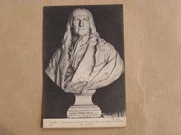 PARIS Théatre De La Comédie Française Statue De Corneille CPA Carte Postale France - Standbeelden