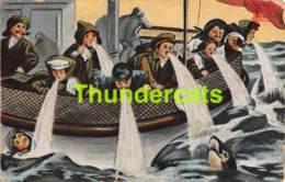 CPA HUMOUR HUMOR BATEAU SHIP SEA SICK MALADE MALADIE - Humor