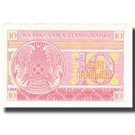 Billet, Kazakhstan, 10 Tyin, 1993, 1993, KM:4, SPL - Kazakhstan