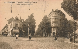 CPA - Belgique - Brussels - Bruxelles - Etterbeek - Carrefour Chaussée De Wavre Et L'avenue D'Auderghem - Etterbeek