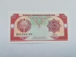 UZBEKISTAN 3 SUM 1994 - Uzbekistan