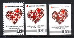 Bosnia Republika Srpska Red Cross (3) MNH - Bosnië En Herzegovina