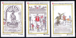 Ordre De Malte SMOM 0764/66 Grands Maitres , Saint Georges Et Le Dragon , Cheval - Malte (Ordre De)