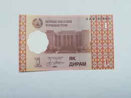 TAGIKISTAN 1 DIRAM 1999 - Tagikistan