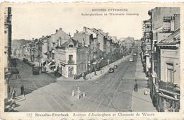 CPA - Belgique - Brussels - Bruxelles - Etterbeek - Auderghemlaan En Waversche Steenweg - Etterbeek