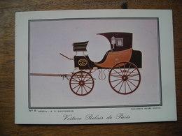 Voiture Relais De Paris, Document Musée Postal - Postal Services