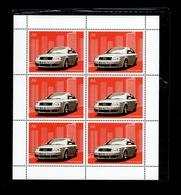 L' Audi A6 Quattro - Bloc De 6 Vignettes N** Sous Pochette Fermée - 2003 - Autos