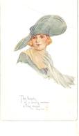 """Winifred Wimbush. Pretty Lady"" TuckOilette Connoisseur Tres Chich Series PC # 2373 - Tuck, Raphael"