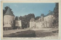 """Marcé-sur-Esves-""""La Louère"""" (Corne D'angle Haut à Gauche,voir Scan) - France"""