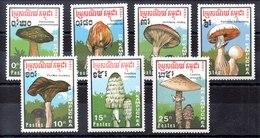 Serie De Kampuchea N ºYvert 871A/71G ** SETAS (MUSHROOMS) - Kampuchea