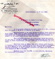 87- SAINT JUNIEN- GANTERIE VERGNIAUD RATINAUD MANUFACTURE GANTS DE PEAU-TURQUIE CONSTANTINOPLE BONNETERIE A. POUPLIDES- - Old Professions