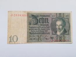 GERMANIA 10 MARK 1929 - 10 Mark